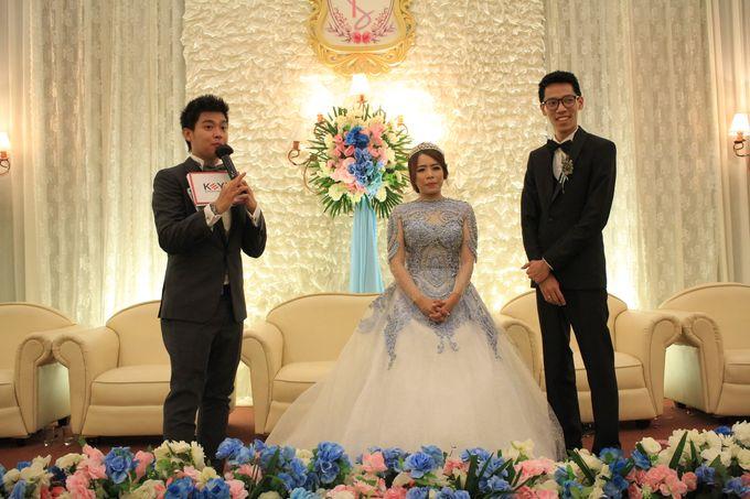MC Wedding Prisma Ballroom Jakarta - Anthony Stevven by Tracy Bridal House - 009