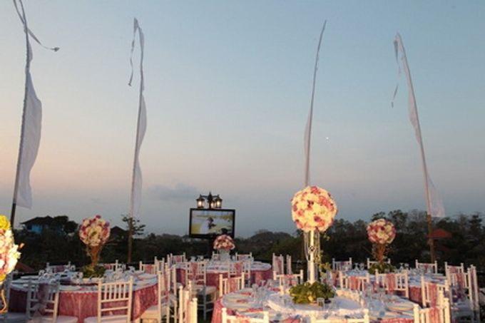 Wedding of Christian Adiwena and Rufina Tam by Flamingo Dewata Chapel and Villas - 001