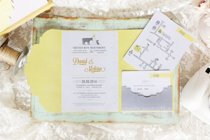 INVITATION - When Ox meets Rabbit by The Bride and Butter - 001