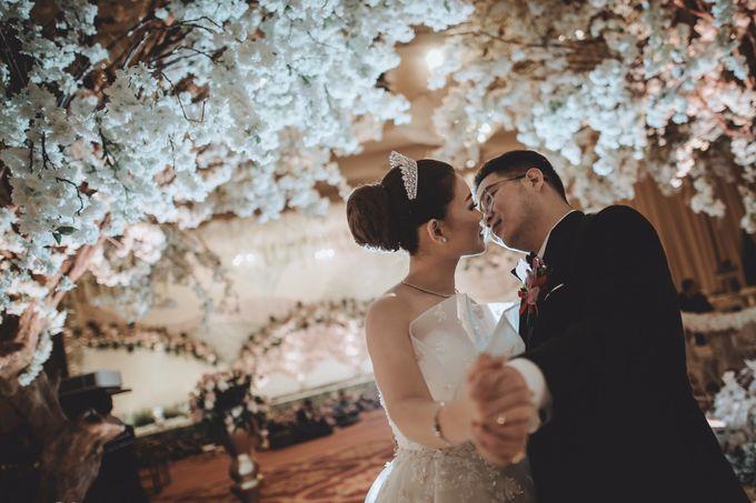 Anton & Cynthia Wedding Day by Mimi kwok makeup artist - 028