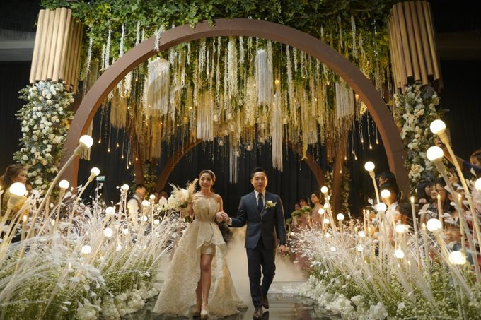 Alvin & Natasha Wedding by Philip Formalwear - 045