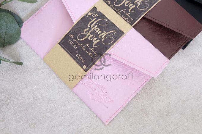 Premium envelope packaging roll paper for Yusri & Iqbal by Gemilang Craft - 003
