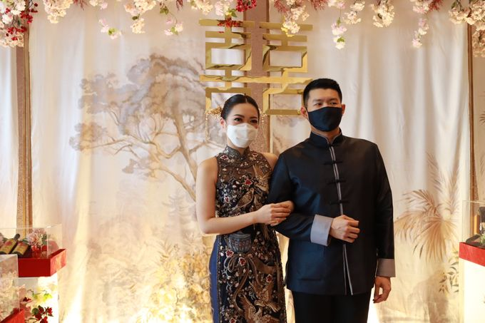 Sangjit House Of Yuen Hotel Fairmont Jakarta - MC Anthony Stevven by NOMA Jewelry & Accessories - 006