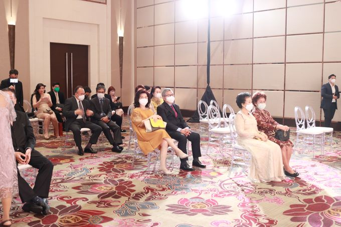 MC Teapai and New Normal Intimate Wedding Fairmont Hotel Jakarta - Anthony Stevven by Anthony Stevven - 003