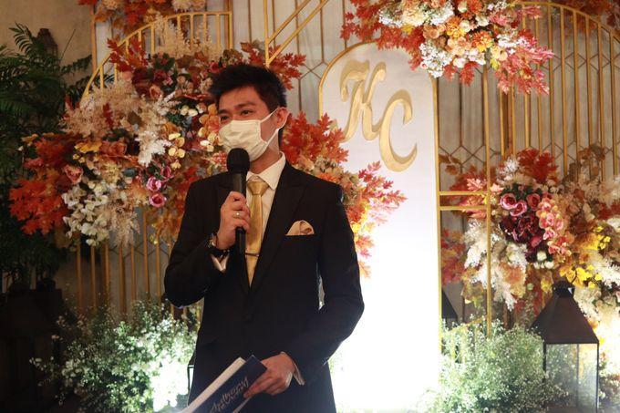 MC Wedding Intimate at Blue Jasmine Jakarta - Anthony Stevven by Anthony Stevven - 023