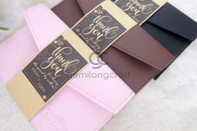 Premium envelope packaging roll paper for Yusri & Iqbal by Gemilang Craft - 005