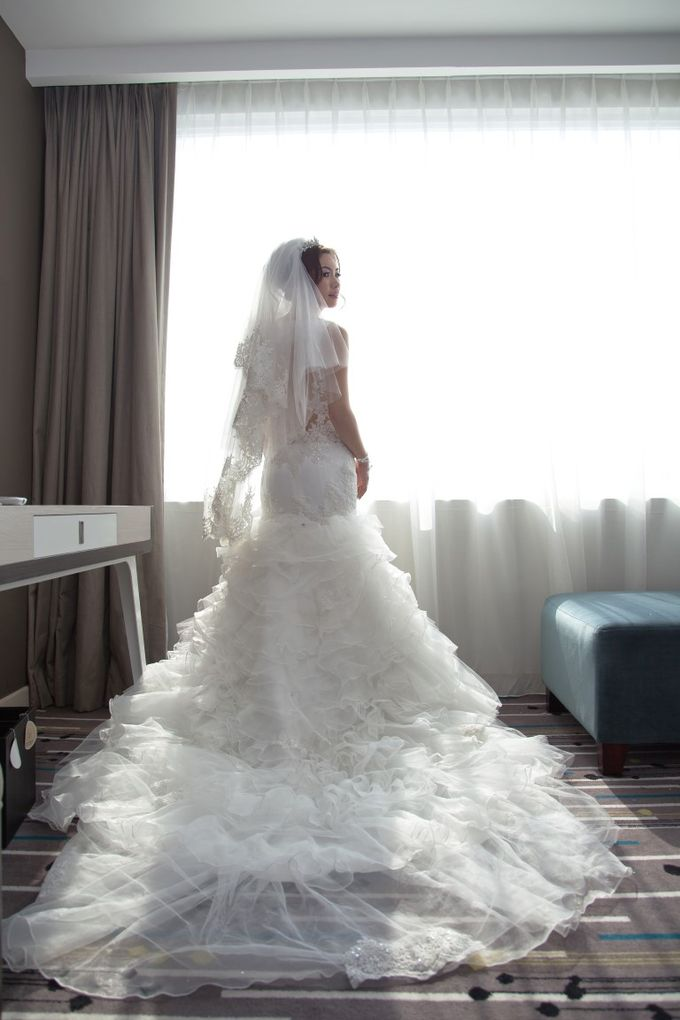 wedding day by Xin-Ai Bride - 022
