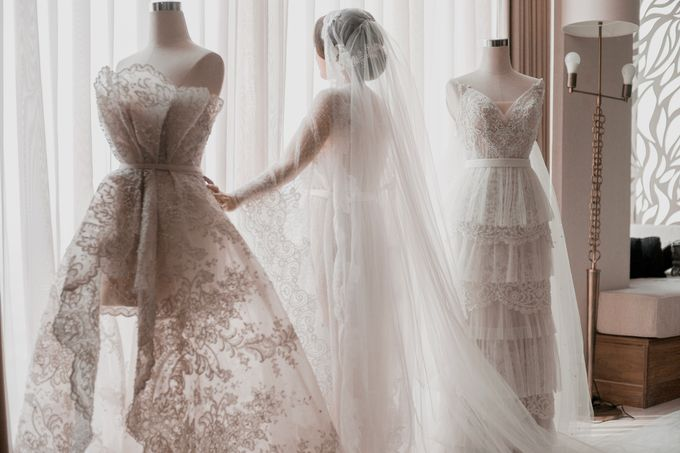 Alvin & Natasha Wedding by Philip Formalwear - 011