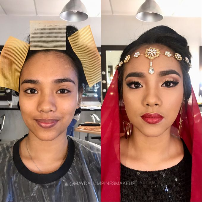 BEFORE & AFTER by May Dalumpines Makeup - 002