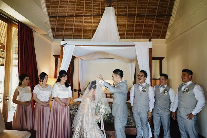 Andrew & Cassandra Wedding by Love Bali Weddings - 004