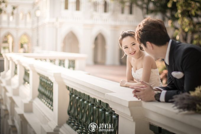 Wedding Actual Day & Pre Wedding by Jovial Photography - 019