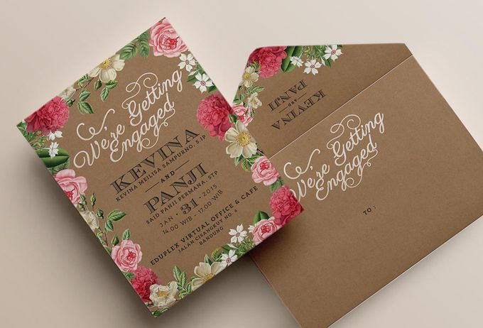 Wedding Invitation by PaperDivasJakarta