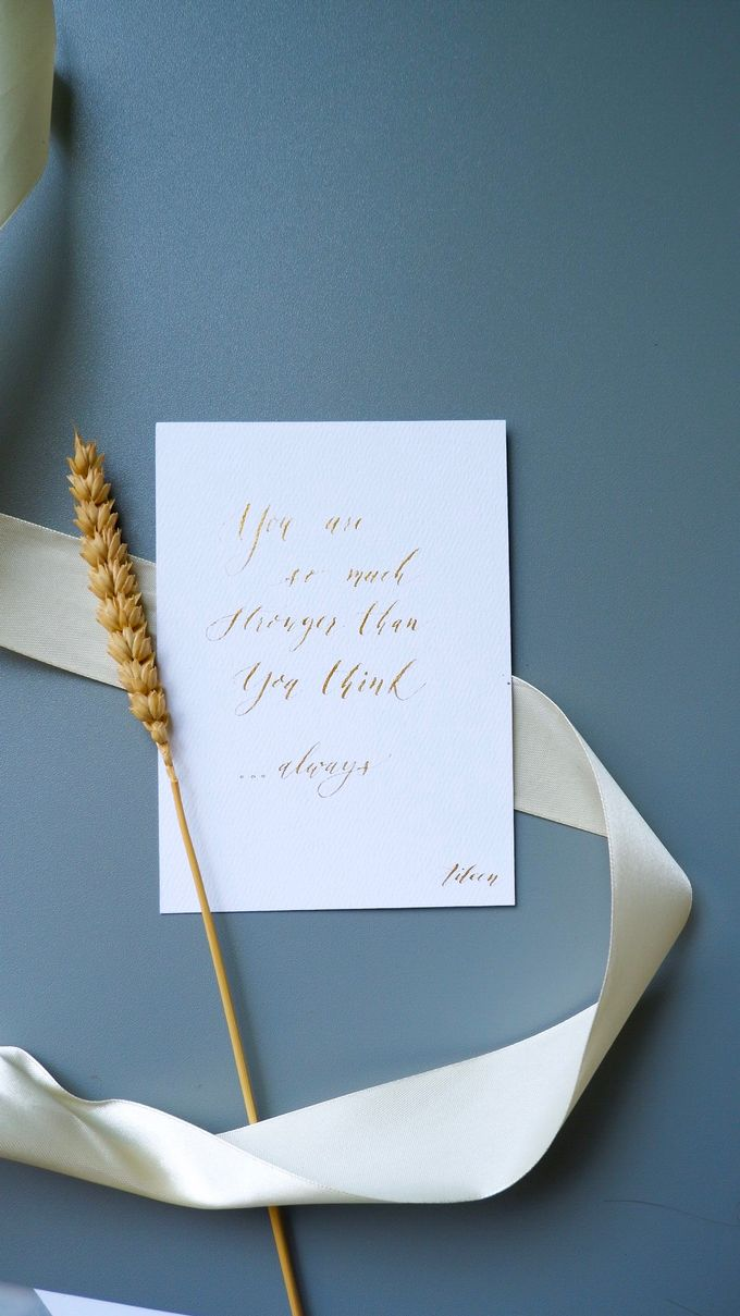 Calligraphy by Atelier Plum - 001