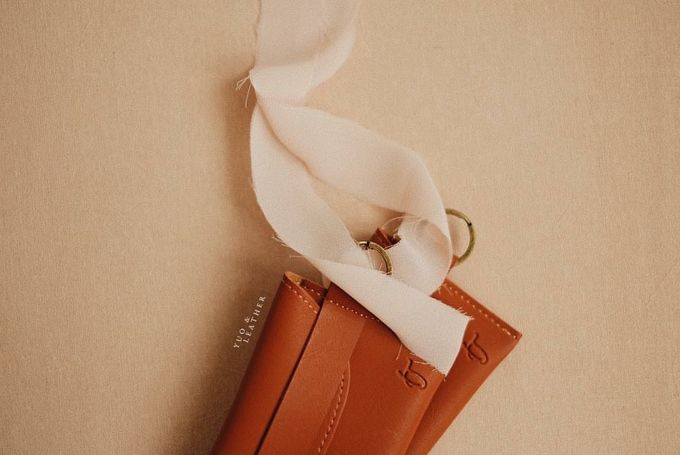 Inas and Taufan Card Holder by Yuo And Leather - 002