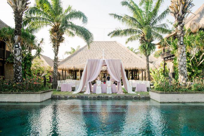 Whimsical Tropical Wedding at Stone House by Tirtha by Tirtha Bali - 003