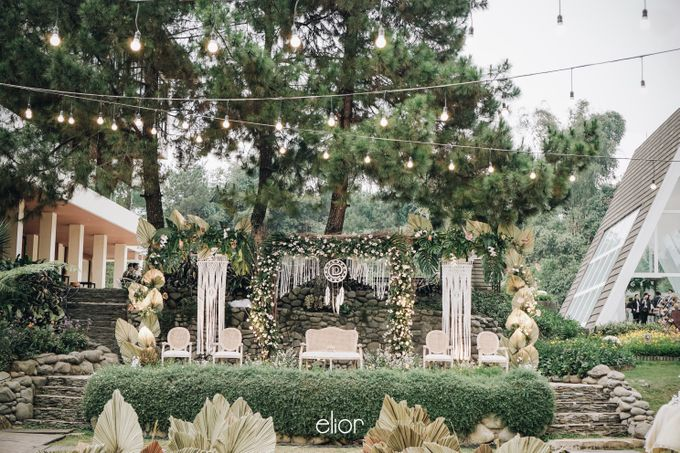 The Wedding of Lidia Dhany by Elior Design - 031