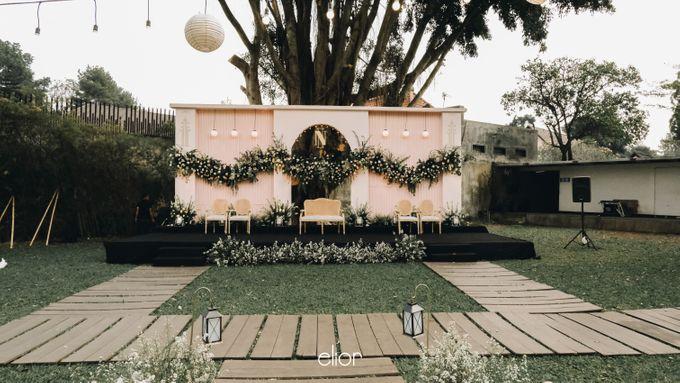 Wes Anderson Wedding Theme of of Nazura & Ichsan by Elior Design - 025