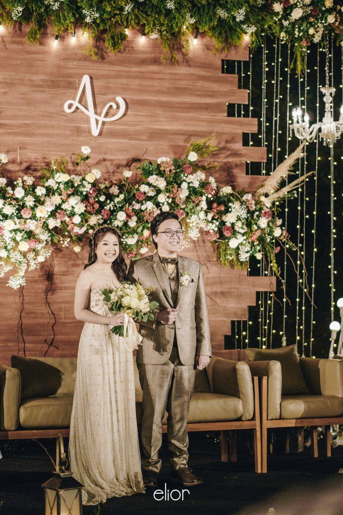 The Wedding of Adrian & Viola by Elior Design - 012