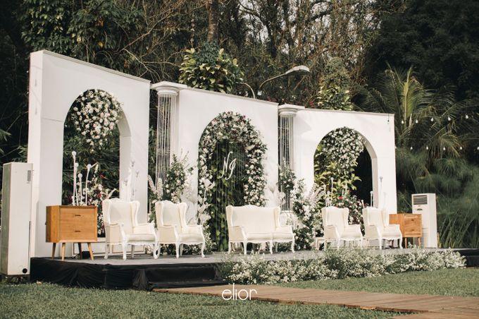 The Wedding of Nadia and Irham by Elior Design - 018
