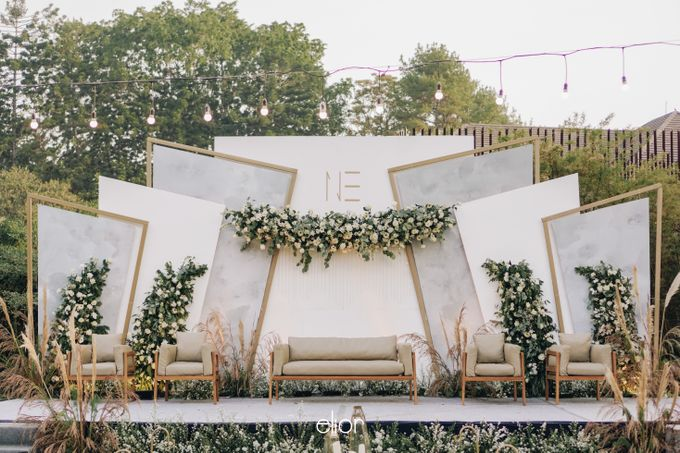 The Wedding of Nico & Evelyn by Elior Design - 012