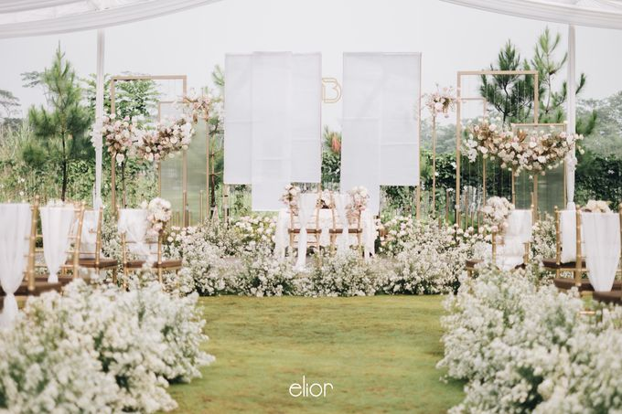 The Wedding of David & Bianca by Elior Design - 030