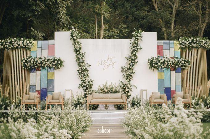 The Wedding of Nindya & Zenga by Elior Design - 015