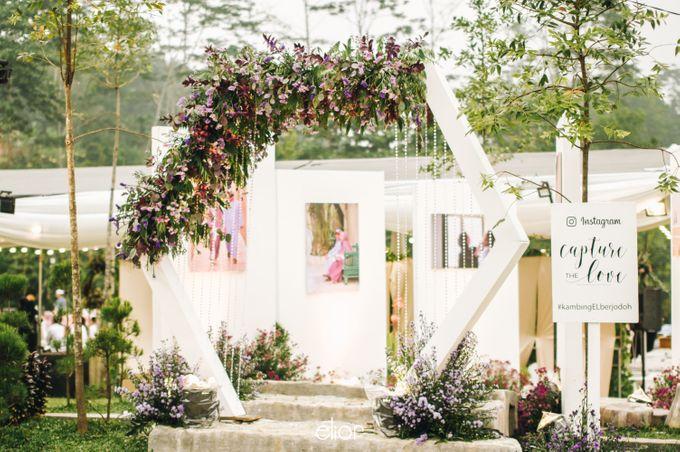 The Wedding of Eriely Lukman by Elior Design - 004