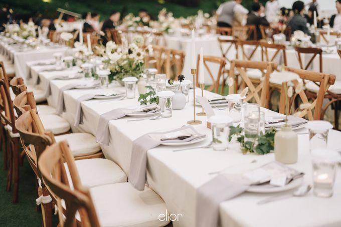 The Wedding Of David & Felicia by Elior Design - 005