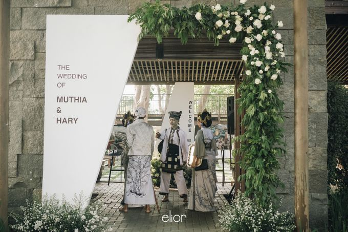 The Wedding of Muthia & Hary by Elior Design - 015
