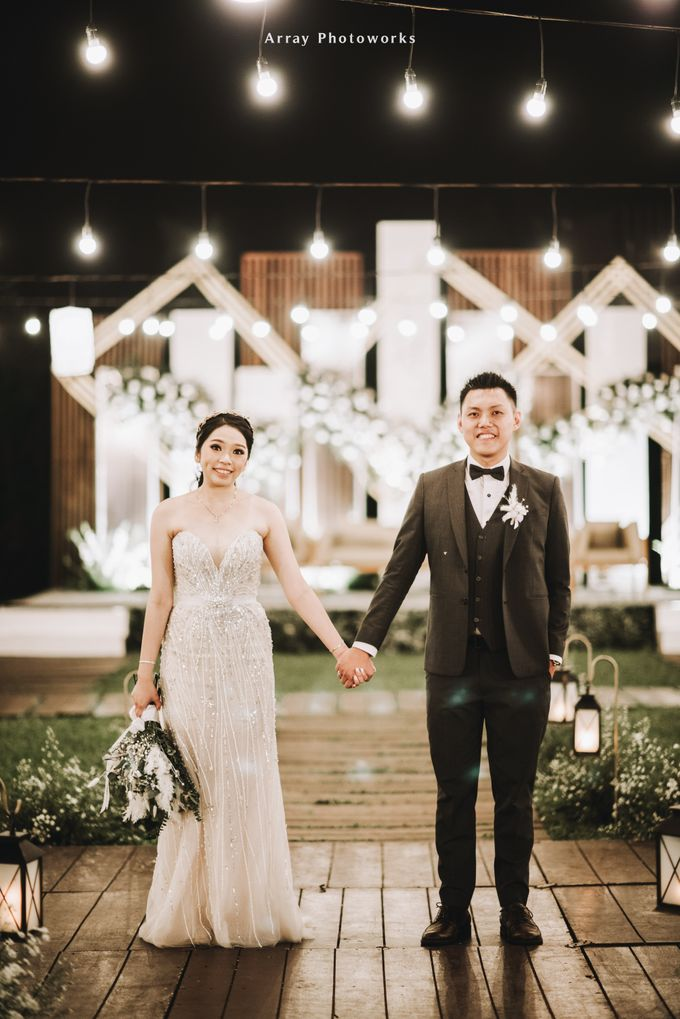 The Wedding of Henry and Stefanie by Elior Design - 005