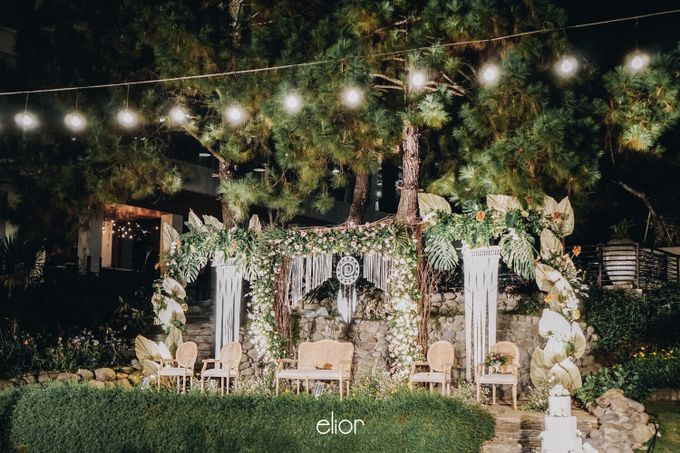 The Wedding of Lidia Dhany by Elior Design - 032