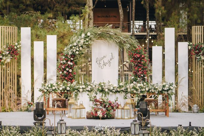 The Wedding of Gian & Angel by Elior Design - 022