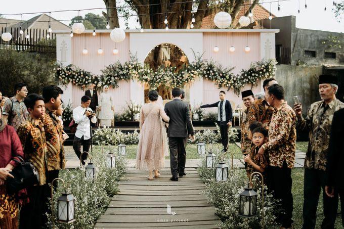 Wes Anderson Wedding Theme of of Nazura & Ichsan by Elior Design - 026