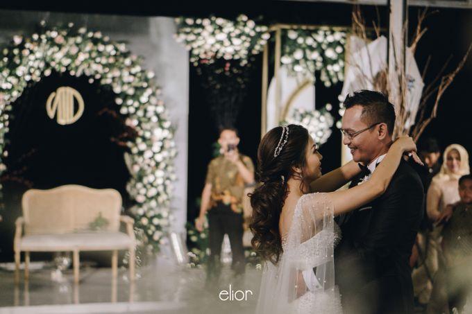 The Wedding of Novilia & Didik by Elior Design - 013