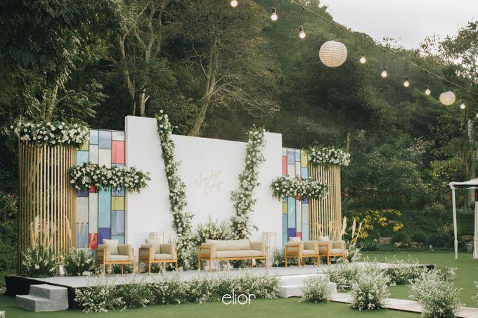 The Wedding of Nindya & Zenga by Elior Design - 016