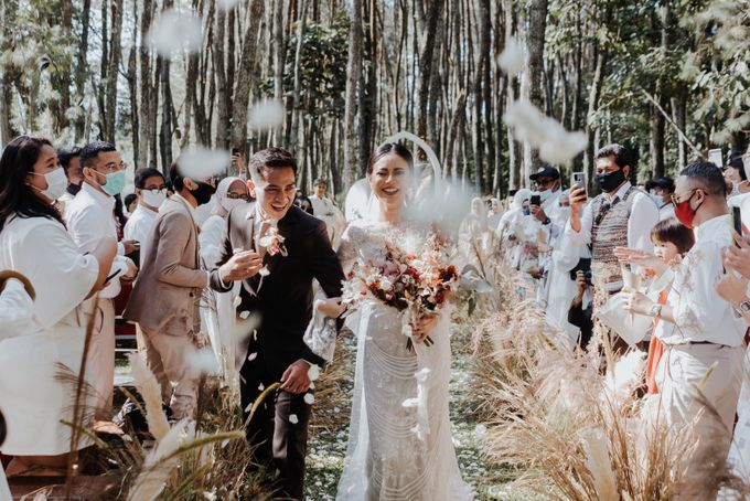 The Wedding of Nysha and Fariz by Elior Design - 035