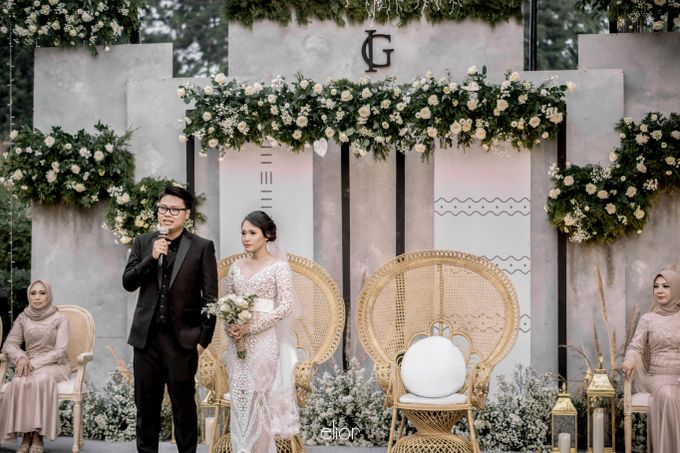 The Wedding of Ivy and Galih by Elior Design - 016