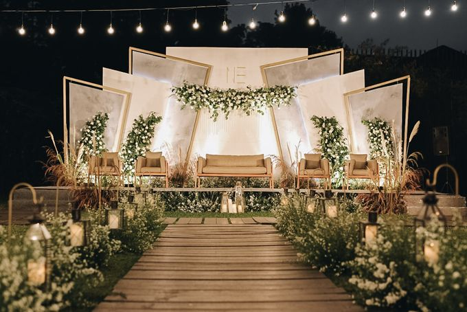 The Wedding of Nico & Evelyn by Elior Design - 013