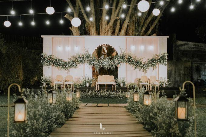 Wes Anderson Wedding Theme of of Nazura & Ichsan by Elior Design - 027