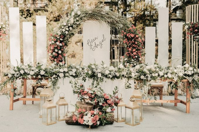 The Wedding of Gian & Angel by Elior Design - 021