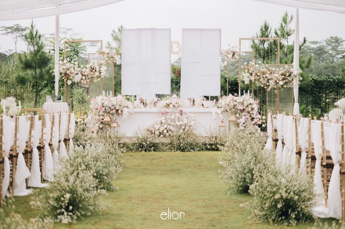 The Wedding of David & Bianca by Elior Design - 032