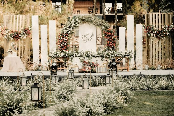The Wedding of Gian & Angel by Elior Design - 023