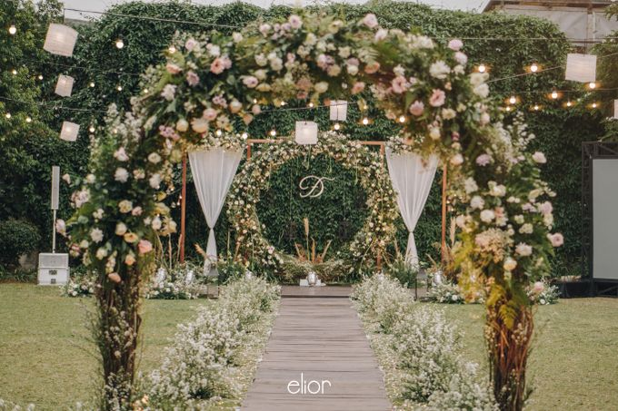 The Wedding Of Felicia & Deny by Elior Design - 015
