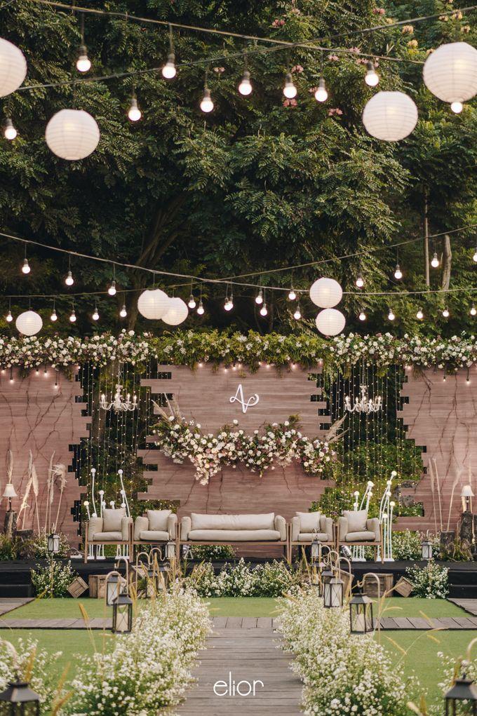 The Wedding of Adrian & Viola by Elior Design - 013