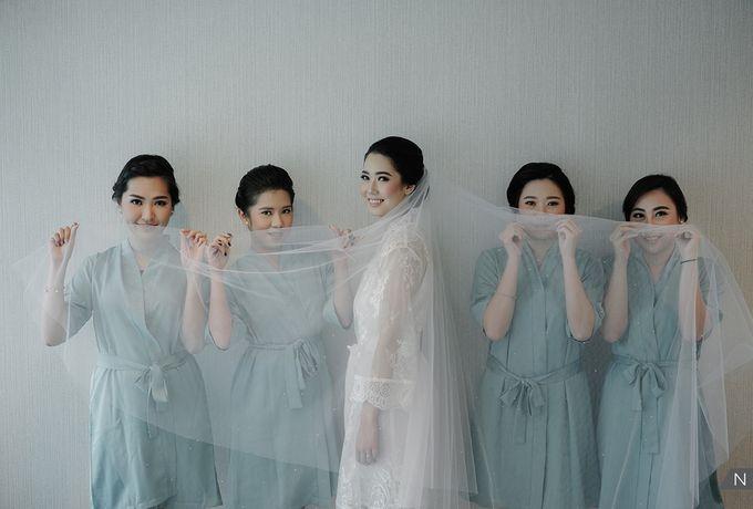Felix & Hanna Wedding by Shangri-La Hotel - 005