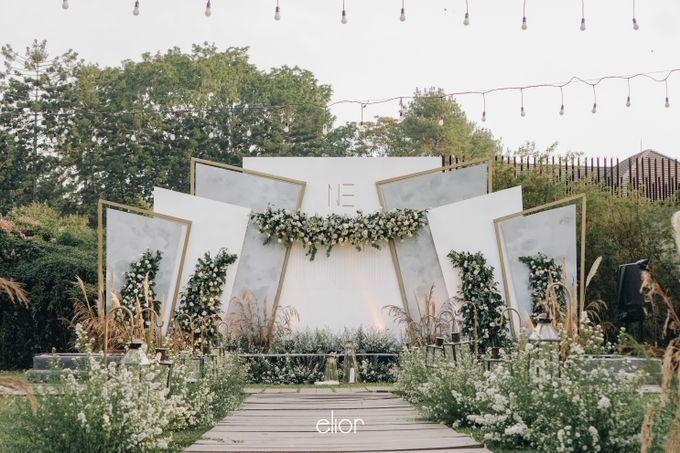 The Wedding of Nico & Evelyn by Elior Design - 014