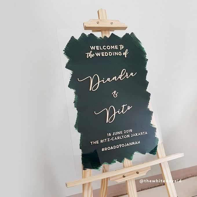 Wedding Sign by The White Dove - 007