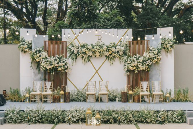 The Wedding of Tommy Kintami by Elior Design - 018