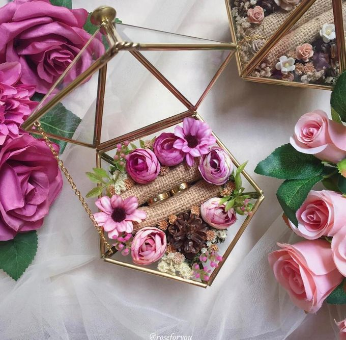 Ring Box by Rose For You - 005