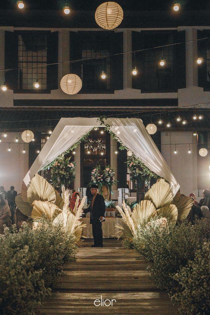 The Wedding of Fira & Jordan by Elior Design - 031